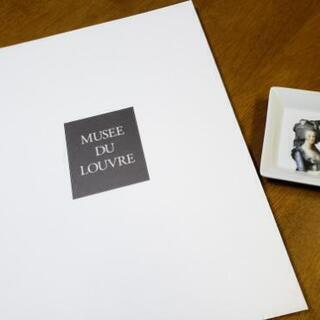 ルーブル美術館 画集ファイル 使ってください!