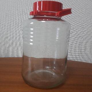 梅酒瓶 ガラス瓶 8リッター 中古品