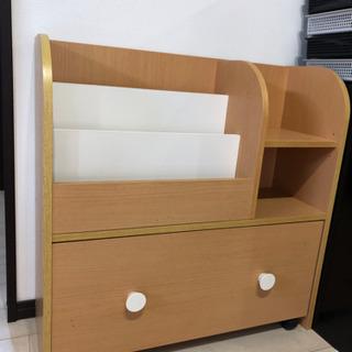 【決定しました】絵本棚とおもちゃ箱があるキッズ棚