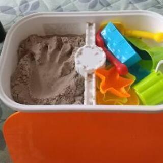 お家で砂場
