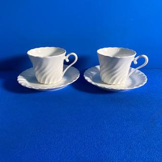 コーヒーカップ ソーサー 2客セット