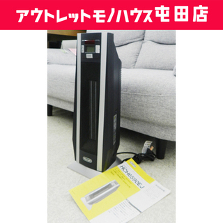 デロンギ 3~8畳 タワー・セラミック・ファンヒーター 首振り機...