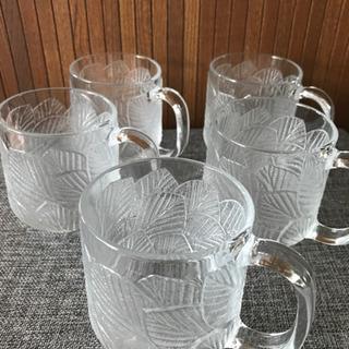 013 ガラスマグカップ 5個セット