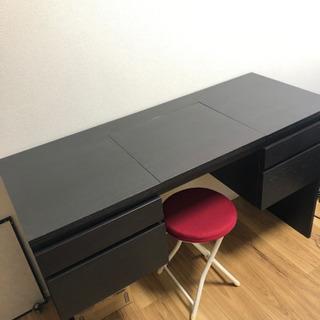 IKEA ドレッサー ブラック