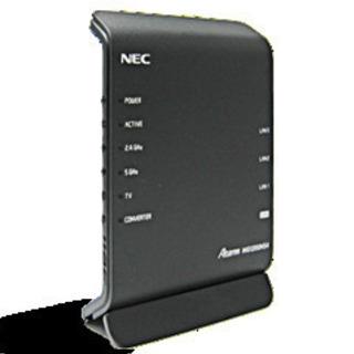 【新品未使用】NEC製ルーター PA-WG1200HS4(NE)
