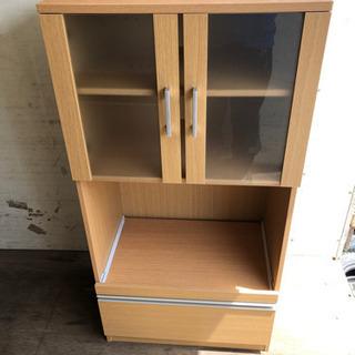 0809-7 キッチン収納棚 木