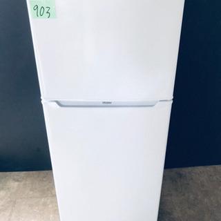 ✨高年式✨903番 haier✨冷凍冷蔵庫✨JR-N130A‼️