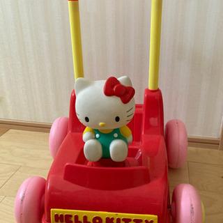 キティ 手押し車 人形用ベビーカー