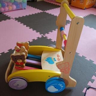 木製手押し車