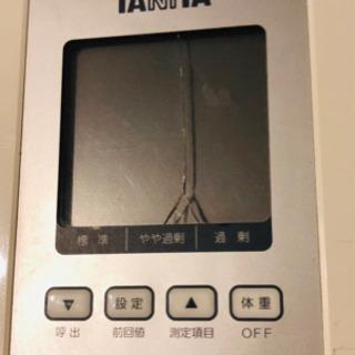 タニタ 体重計 体脂肪率計 美品 BC-705 ヘルスメーター ...