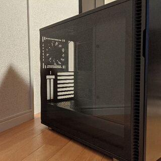 デスクトップ 用 PCケース Define R6 TG 中古品で...