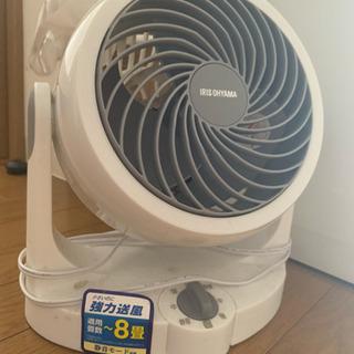 箱付き アイリスオーヤマ扇風機