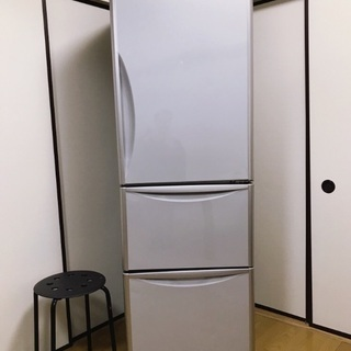 【美品】日立 冷蔵庫 365L 3ドア 自動製氷 真空チルド ビ...