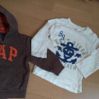 【値下げ】baby GAP 子供服(90cm)パーカー、トップス