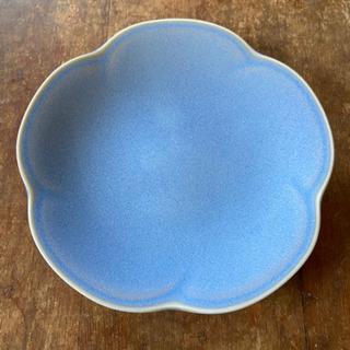 コースター 青色 小皿