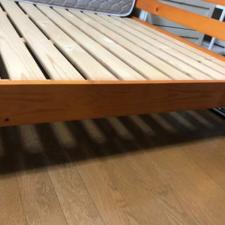 組み立てできるベット (日本製マットレス)