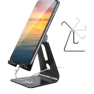 ✨新品未使用✨スマホ スタンド ホルダー 角度調整可能, 携帯電...