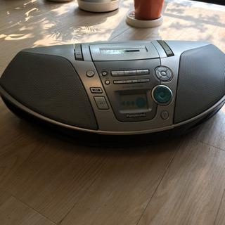 Panasonic  CD ラジオカセットレコーダー