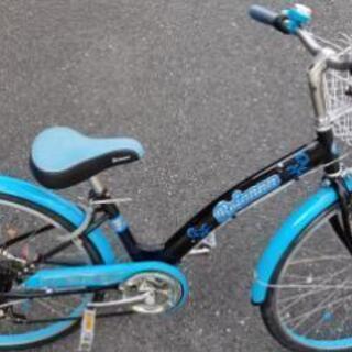 ブリアンナ シマノ6段変速 LEDブロックライト 子供用自転車