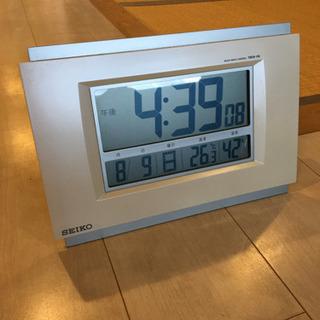 SEIKO 電波時計 据置タイプ