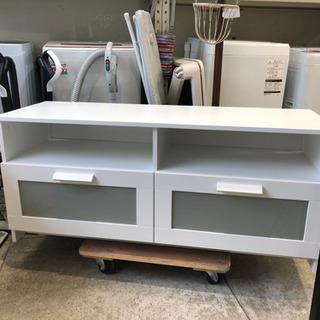 IKEA テレビ台 ローボード  ホワイト 120幅