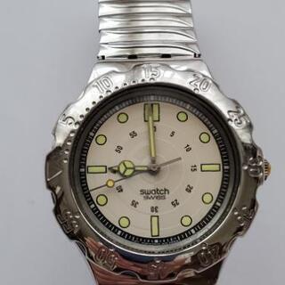スウォッチ腕時計 伸縮バンド