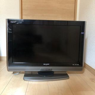 2010年製26V型SHARP製テレビ