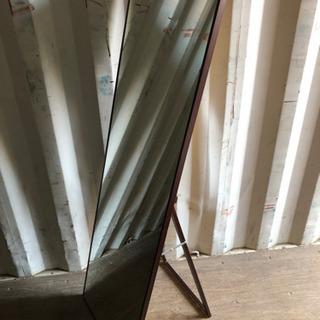 0809-24 スタンドミラー 鏡