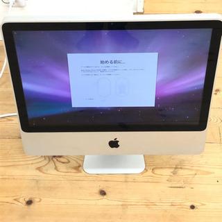 8-089  iMac  アップル 20インチ メモリ4GB  ...