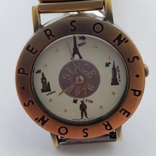 パーソンズ 伸縮バンド 腕時計