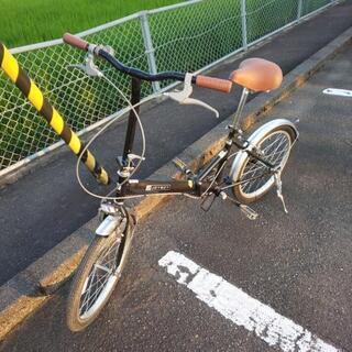 20インチ折り畳み自転車