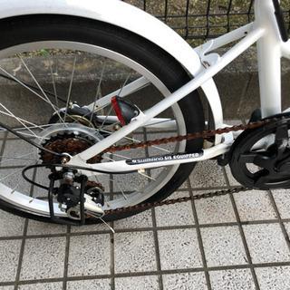 スリーストーン 折り畳み自転車 20インチ