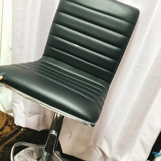 【ネット決済】カウンター椅子 黒色