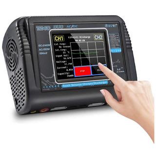 Lipo充電器1-6Sタッチスクリーンデュアルチャージャー