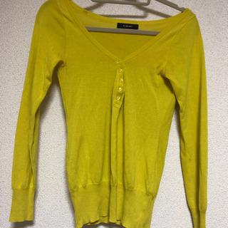 ◆INTERPLANET◆長袖カットソー◆キレイな黄色