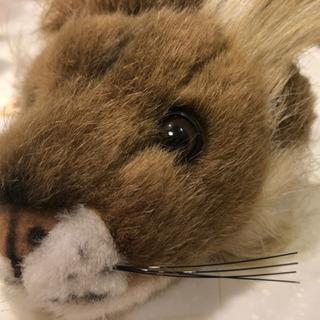 【未使用美品】ドアノブカバー ライオン