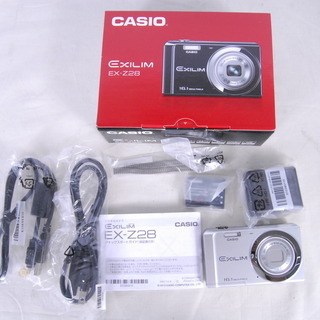 3117 未使用 CASIO EXILIM EX-Z28 デジタ...