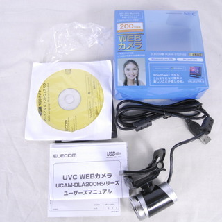 3119 WEBカメラ NEC 200万画素 ELECOM…