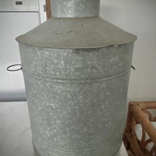 茶缶 スチール製