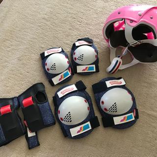 kids ヘルメット、膝、肘、拳サポーター