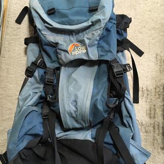 ロウアルパイン 登山リュック