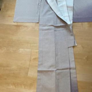 塩沢紬 新品未使用品 シルク加工
