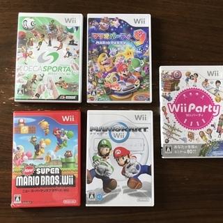 【今すぐ遊べる】任天堂Wii 人気のあるゲームソフト5種類