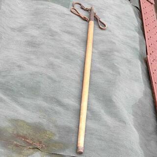 アンティーク 天秤棒 秤とおもり