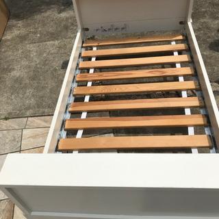 IKEAキッズすのこベッド 成長に合わせて長さ3段階