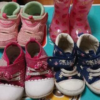 12.5~13.5cm中古の靴&70~90の服