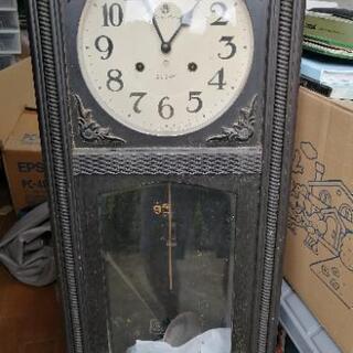 レトロなゼンマイ式時計(相談可)