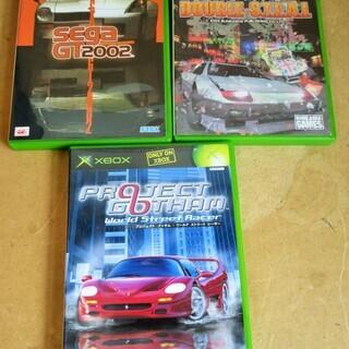 ☆XBOX ダブルスティール SEGA GT 2002 プロジェ...