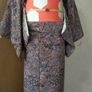 👘 正絹 小紋 ♪ 趣味のお着物