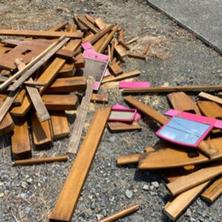 廃材、廃木材など